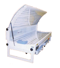 Lay down sunbed